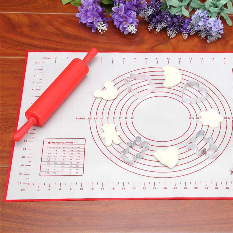 Silicone Baking Mat With Measurements For Rolling Dough